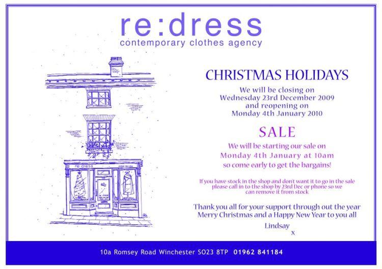 re:dress Sale