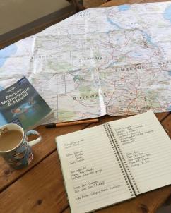 Travel plotting